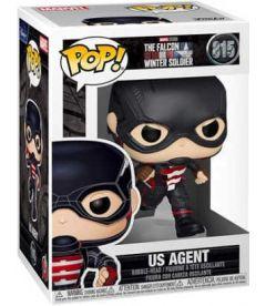 Funko Pop! Marvel The Falcon & Winter Soldier - US Agent (9 cm)