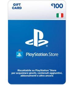 Ricarica Portafoglio PlayStation Store EUR 100