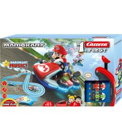 Carrera First - Mario Kart Royal Raceway (2 Veicoli Inclusi, 3,5 mt)