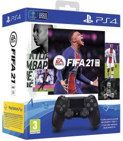 CONTROLLER DUALSHOCK 4 V2 + FIFA 21 (JETBLACK)