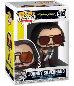 Funko Pop! Cyberpunk 2077 - Johnny Silverhand With Gun (9cm)