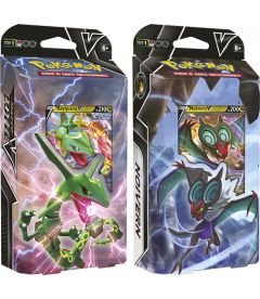 Pokemon - Lotte V Rayquaza-V e Noivern-V (Mazzo, Soggetti Vari)