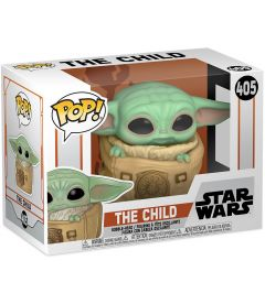 FUNKO POP! STAR WARS THE MANDALORIAN-THE CHILD WITH BAG(9CM