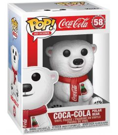 FUNKO POP! COCA COLA - POLAR BEAR (9 CM)