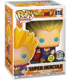 Funko Pop! Dragon Ball Super - Super Saiyan Hercule (Glow In The Dark,9 cm)