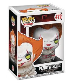 FUNKO POP! IT - PENNYWISE WITH BOAT (9 CM)