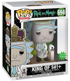 FUNKO POP! RICK AND MORTY - KING OF SH!T WITH SOUND (15 CM)