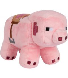 MINECRAFT - ADVENTURE SADDLE PIG (16,5 CM)