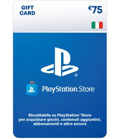 Ricarica Portafoglio PlayStation Store EUR 75