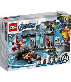 Lego Marvel Avengers - Armeria Di Iron Man