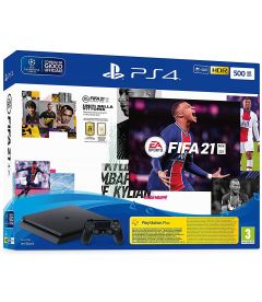 PS4 500GB SLIM (F CHASSIS) + FIFA 21