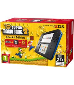 Nintendo 2DS + New Super Mario Bros 2 (Nero E Blu)