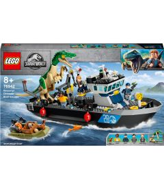 Lego Jurassic World - Fuga Sulla Barca Del Dinosauro Baryonyx