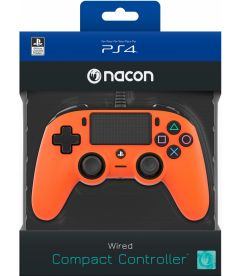 NACON WIRED COMPACT CONTROLLER (ARANCIONE)