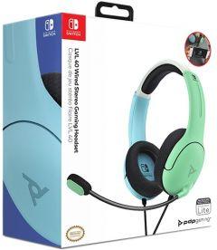 Cuffie Gaming Stereo LVL40 (Blu/Verde, Switch, Switch Lite)