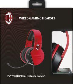 Wired Gaming Headset AC Milan
