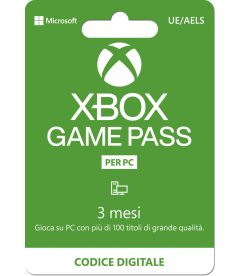 Xbox Game Pass PC (3 Mesi)