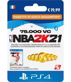 NBA 2K21 75000 VC