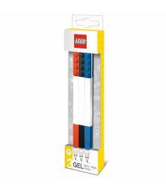 LEGO - PENNA GEL (NERO, ROSSO, BLU, 3PZ)