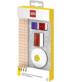 LEGO - SET DA SCRIVANIA (4MATI,1TOPPER,1TEMPERINO,1GOMMA)