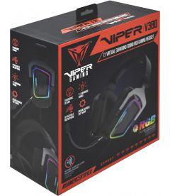 Cuffie Gaming Viper V380 Virtual 7.1 RBG (USB, PC, PS4, PS5)