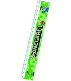 Minecraft - Righello (18 cm)