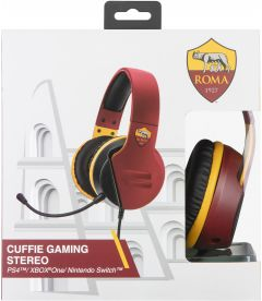 CUFFIE GAMING STEREO AS ROMA (PS4, XB1, PC, MAC, MOBILE)
