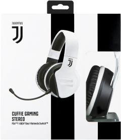 CUFFIE GAMING STEREO JUVENTUS (PS4, XB1, PC, MAC, MOBILE)