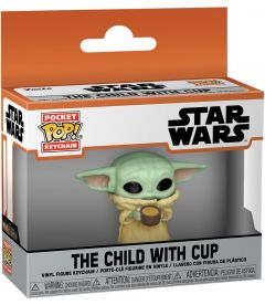 Pocket Pop! Star Wars The Mandalorian - The Child With Cup