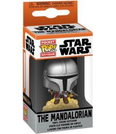 Pocket Pop! Star Wars The Mandalorian - Mandalorian with Blaster