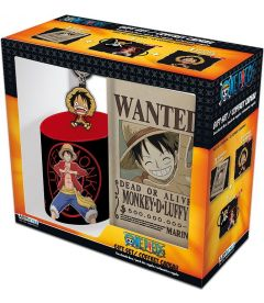 One Piece - Luffy(Tazza,Portachiavi,Notebook A6)