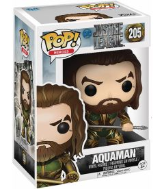 FUNKO POP! JUSTICE LEAGUE MOVIE - AQUAMAN (9 CM)
