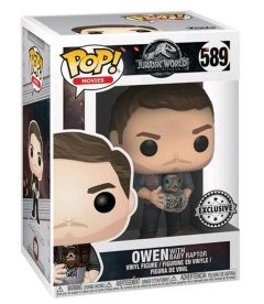 FUNKO POP! JURASSIC WORLD: FALLEN KINGDOM - OWEN (9 CM)