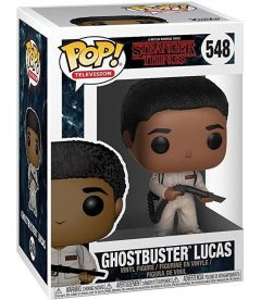 FUNKO POP! STRANGER THINGS - GHOSTBUSTER LUCAS (9 CM)