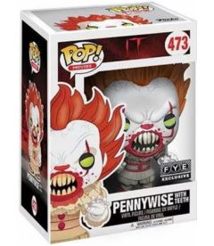 FUNKO POP! IT - PENNYWISE WITH TEETH EXCLUSIVE (9 CM)