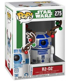 FUNKO POP! STAR WARS: HOLIDAY- R2-D2 WITH ANTLERS (9 CM)