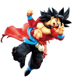SUPER DRAGON BALL HEROES - GOKU SUPER SAYAN 4(9TH ANN,14 CM)