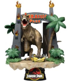 Jurassic Park - Gate With T-Rex (16 cm)