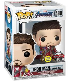 Funko Pop! Marvel Avengers Endgame - I Am Iron Man (Glow in The Dark, 9 cm)