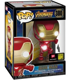 Funko Pop! Marvel Avengers Infinity War - Iron Man (Lights Up, 9 cm)