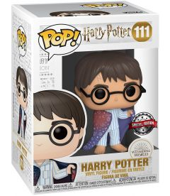 Funko Pop! Harry Potter - Harry Potter In Invisibility Cloak (Special Edition, 9 cm)