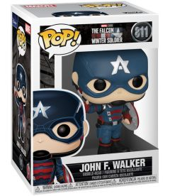 Funko Pop! Marvel The Falcon & Winter Soldier - John F. Walker (9 cm)