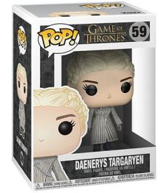 Funko Pop! Game Of Thrones - Daenerys (White Coat, 9 cm)