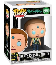Funko Pop! Rick & Morty - Death Crystal Morty (9 cm)