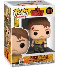 Funko Pop! The Suicide Squad - Rick Flag (9 cm)