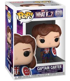 Funko Pop! Marvel What If - Captain Carter (9 cm)