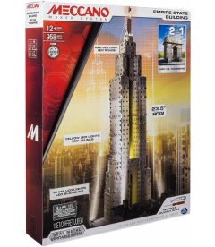MECCANO - EMPIRE STATE BUILDING / ARC DE TRIOMPHE (2 IN 1)