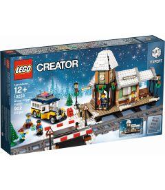 LEGO CREATOR EXPERT - LA STAZIONE DEL VILLAGGIO INVERNALE