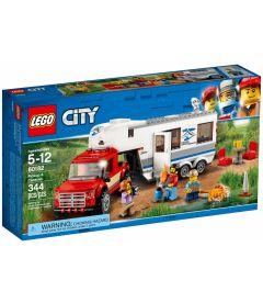 LEGO CITY - PICKUP E CARAVAN