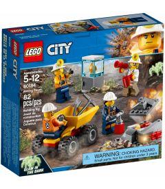 LEGO CITY - TEAM DELLA MINIERA